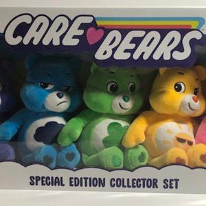 Set 5 Care Bears Special Edition Collector NEW